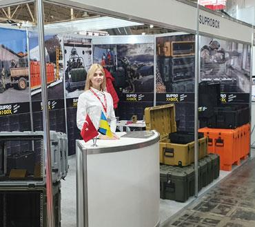 Suprobox Ukrayna Arms And Security 2019 Fuarında yer aldı.